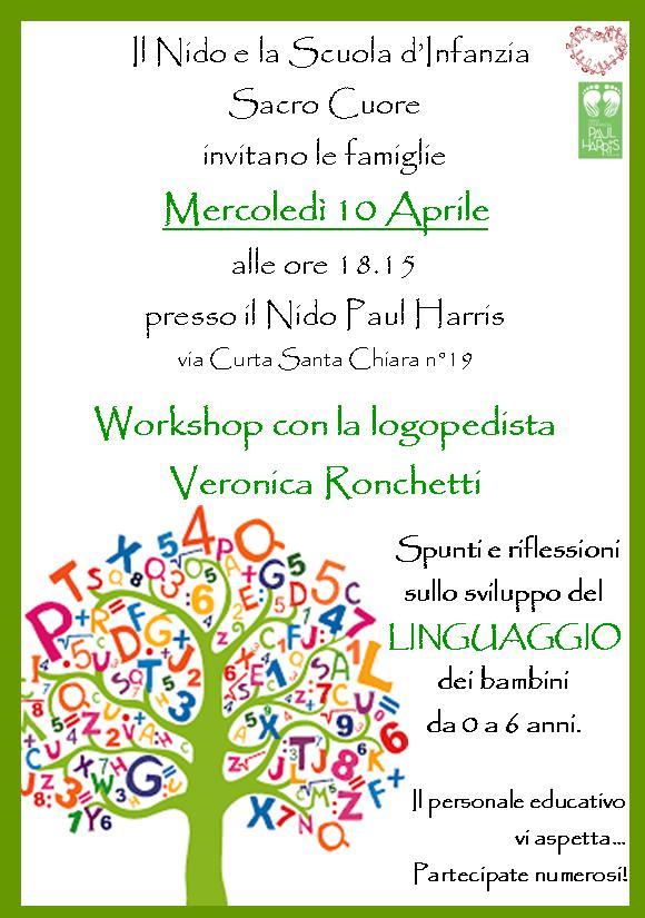 Workshop Con Veronica Ronchetti Logopedista
